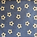Spot the Ball - Denim - £ 9.75 per metre