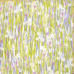 Spring Daisy - Lavender - £ 11.95 per metre