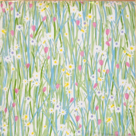 Remnant 1240: Spring Daisy - Rose [0.75 metre] - £ 6.95 Item price