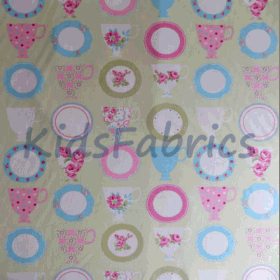 Teacups - Apple - £ 9.20 per metre
