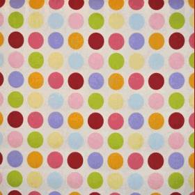 Vintage Spot - Linen - £ 10.95 per metre