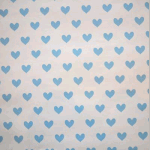 WALLPAPER: Love Heart - Powder Blue - £ 24.95 per roll