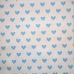 WALLPAPER: Love Heart - Powder Blue - £ 23.95 per roll