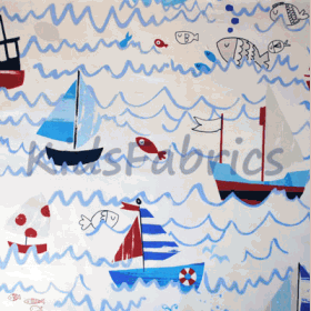Waves - Marine - £ 11.95 Per Metre