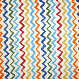 Zigzag - Denim - £ 11.50 per metre