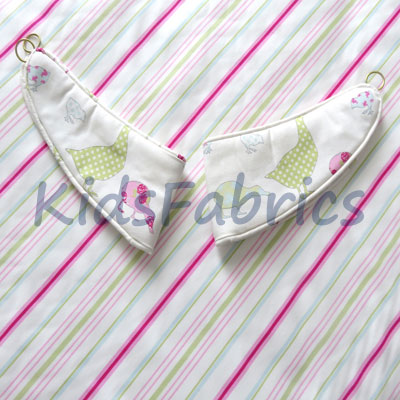 Tie Backs: Ducks - Pink [SALE] - £15.50 ITEM PRICE