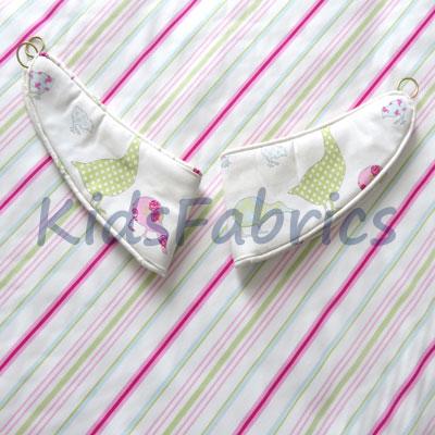 Tie Backs: Tabitha - Sorbet - £18.50 ITEM PRICE