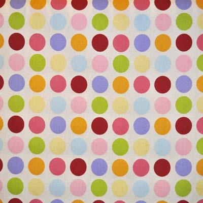 Vintage Spot - Linen - £12.50 per metre