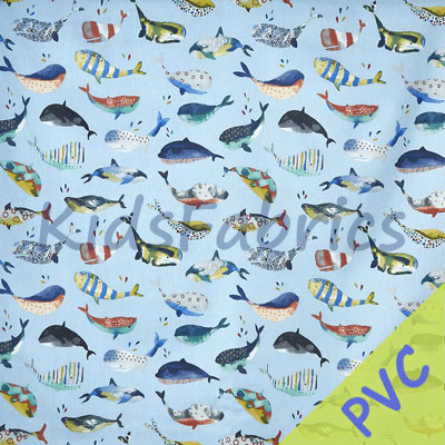 Whale Watch - Pacific [PVC] - £14.95 per metre
