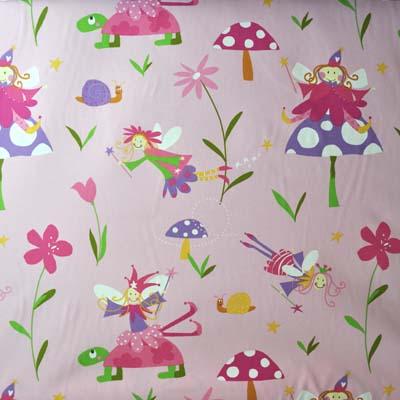 Wonderland - Pink - £11.95 per metre