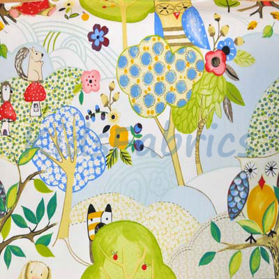 Woodland Friends - Summer - £11.50 per metre