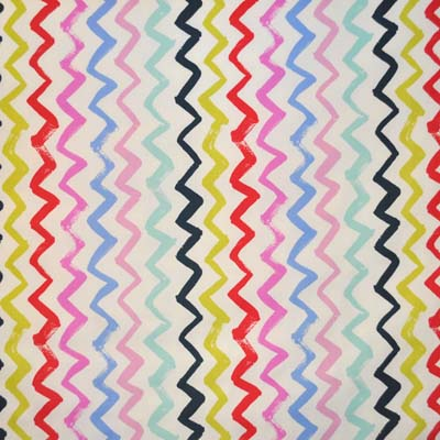 Remnant 1232: Zigzag - Tropical [1.50 metre] - £13.20 Item price