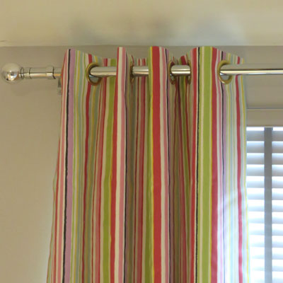 CURTAINS: ZOOM - PINK - £95.00 ITEM PRICE