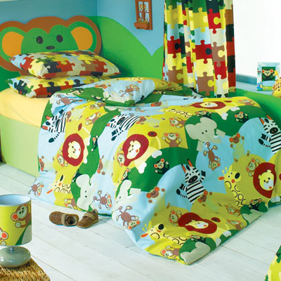 Children 39 s fabric kids curtains for kids rooms bedding and for Children s furnishing fabrics